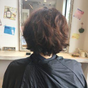 埼玉県 さいたま市 南浦和 ノンジアミンカラー 白髪染め