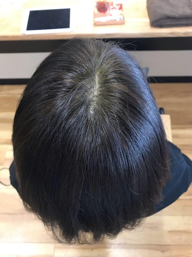 化学物質を含まない草木染めで白髪は染まりますか?