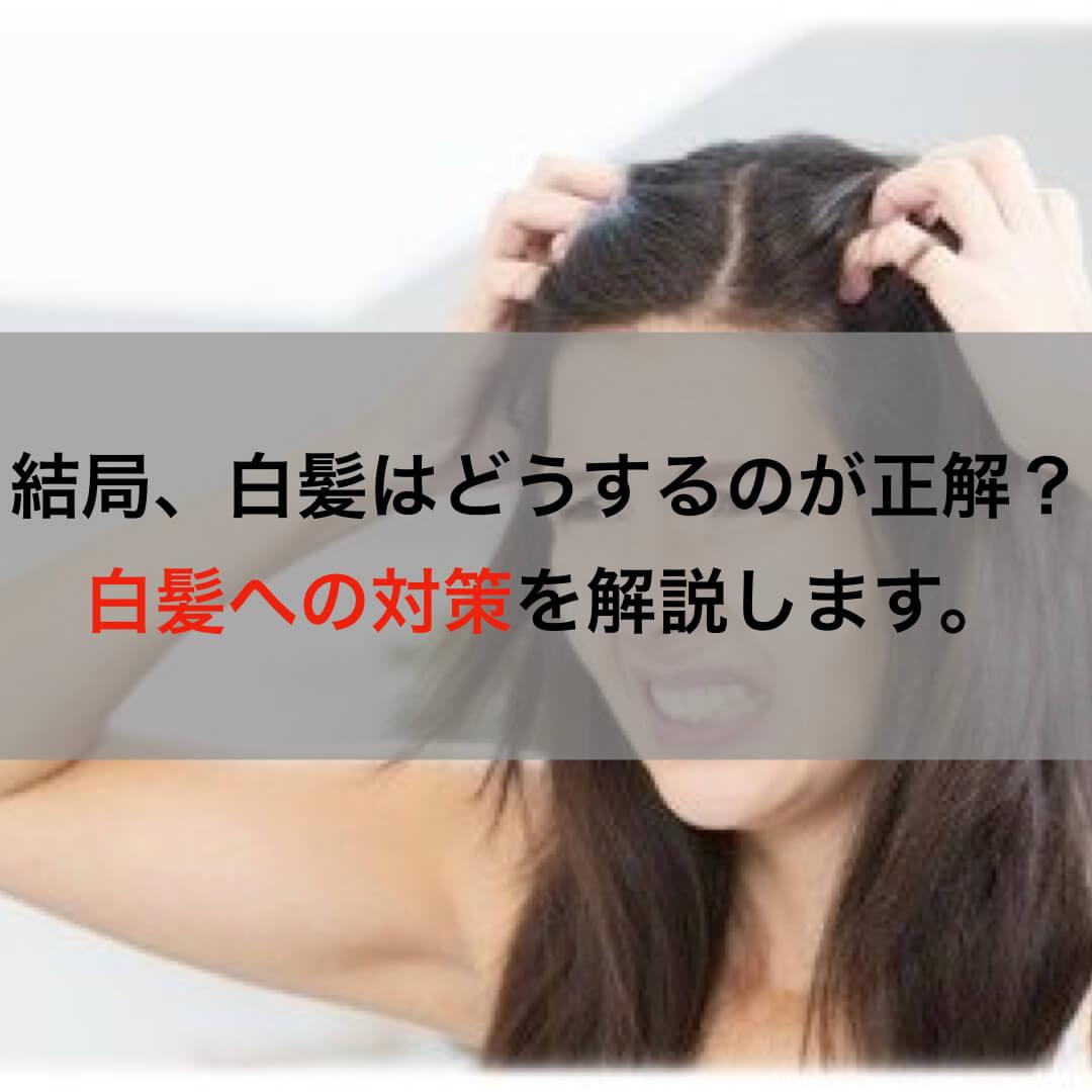 結局、白髪はどうするのが正解?染める・生かす・やめるを徹底解説