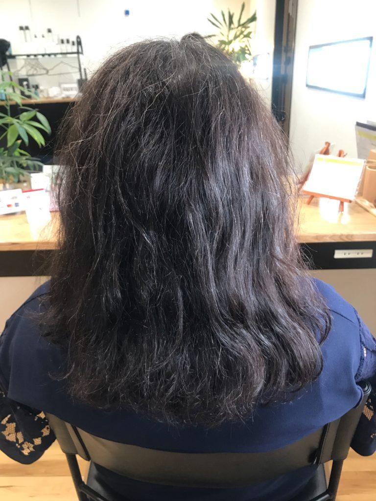 ジアミンフリーの白髪染めなら アレルギーのある方でも染められます